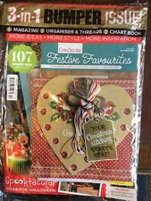Cross Stitcher Magazine  Issue 310 October 2016 3 in 1 Bumper issue