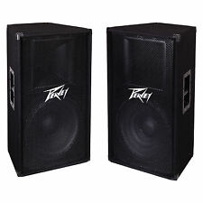"Peavey PV115 2-Way 15"" 800W Active PA DJ Sound PV115 Speaker System (2 Pack)"