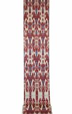 UZBEK HAND CRAFTED 100% SOFT COTTON IKAT FABRIC