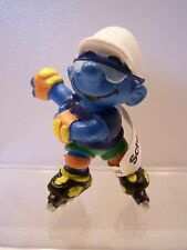 Schleich Smurfs Rollerblading Smurf New with Tags