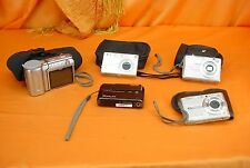 Vintage Lot of 5 Various DIGITAL CAMERAS Pentax Casio Nikon ~ ESTATE LOT!