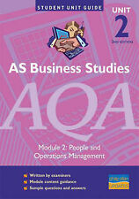 Rollitt-James, Isobel AS Business Studies AQA: Unit 2: People and Operations Man