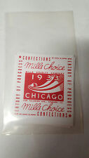 REPO MINT WRAPPERS FOR ANTIQUE SLOT MACHINE MW#69 MILLS CHOICE RED WHITE 10 PACK