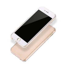 360 Protective front & back  Soft  TPU Silicone Clear Case Cover For iPhone 5/6