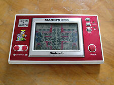 **MARIO CEMENT FACTORY** Nintendo Game and Watch RARE 1983 *Include Batteries*