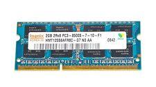 RAM original memoria Hynix 2gb pc3-8500s ddr3 1066mhz pc3-8500 de memoria