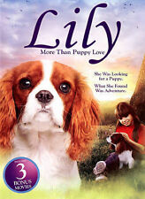 4 Movies Lily More Than Puppy Love, Lassie The Painted Hills, Nico the Unicorn
