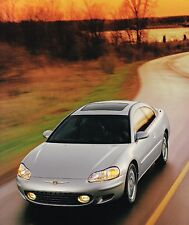Big 2001 Chrysler SEBRING Coupe Sales Brochure / Catalog with Color Chart:LX,LXi