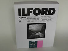 ILFORD MGIV RC DELUXE 8x10 GLOSSY 100 DARKROOM PAPER