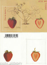 "France - "" FRUIT ~ STRAWBERRY "" Scented MNH Miniature Sheet MS 2011 !!"