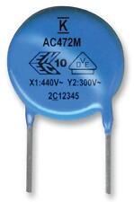 Capacitors - Ceramic Multi-layer - CAP CER Y5U 4700PF 400VAC RAD