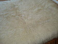 6500 Grams BEST WHITE NATURAL  FLOKATI 100% NATURAL WOOL RUG 7' x 4.5'