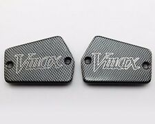 Carbon Motorcycle Fluid Reservoir Caps For Yamaha Vmax 1200 1985-2007