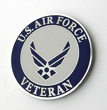 United States Air Force Wings USAF Veteran Large Lapel Pin Badge 1.5 inches