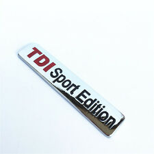 TDI Sport Edition 3D Sticker for Car Volkswagen Polo Vento Jetta