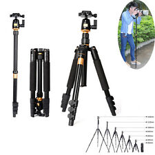 Professional Aluminium Alloy Tripod Monopod with Ball head for Camera DSLR New