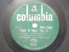 "THE BIG BEN BANJO BAND POPC 2061 INDIA INDIAN RARE 78 RPM RECORD 10"" GREEN VG-"
