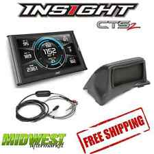 Edge Insight CTS2 With EGT Probe & Dash Mount For 1998.5-2002 Dodge 5.9L Cummins