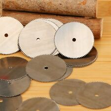 HSS Circular Saw Disc Wheels 20pcs with Rod For Dremel Metal Rotary Cutter Tool