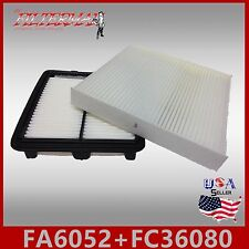 FA6052 FC36080 ENGINE & CABIN AIR FILTER COMBO HONDA FIT 2013-2009 1.5L.FAST!!!