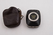 Electro Bewi Exposure Meter Lighting Meter (G3R) Rare Working w/Leather Case #14