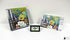 ★ Nintendo GameBoy Advance Spiel - SPONGEBOB SQUAREPANTS SUPERSPONGE - in OVP ★