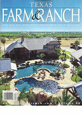 TEXAS FARM & RANCH,  SUMMER, 2016  ( THE SOURCE FOR DISCERNING BUYERS & SELLERS