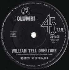 Sounds Incorporated ORIG OZ 45 William tell overture EX '64 Instrumental rock