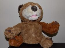 Eric Carle  Zoobies Brown Bear What Do You See?  Plush Storybook  12""
