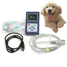 USA!Handheld Veterinary Pulse Oximeter CMS60D-VET,SpO2 Probe+PC Software,SPO2,PR