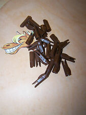 24 Cedar Wood Traditional Arrows  MERCURY INDEX SPEED  Nocks 5/16  DARK BROWN