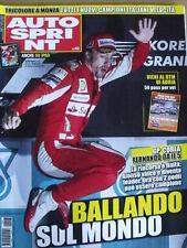 Autosprint 43 2010 Gp Corea dominio di Fernando Alonso nuovo leader [SC.49]