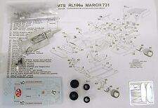 1/43 RL106E MARCH 731 MIKE BEUTLER KIT BY SMTS