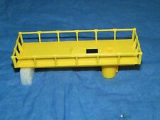 LIONEL 6812 6812-8 LEMON YELLOW Maintenance Top Platform No BREAKS! MINT NOFS!