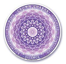 Mandala Arts Window Sticker: Crown Chakra