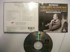 BEETHOVEN/HARNONCOURT The Creatures Of Prometheus  – 1995 EU CD - BARGAIN!