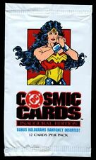 DC Cosmic Cards 1991 Wonder Woman, Trading Cards Wrapper #W69