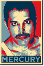 Freddie mercury art photo print (OBAMA HOPE Parodie) Poster Cadeau Freddy queen