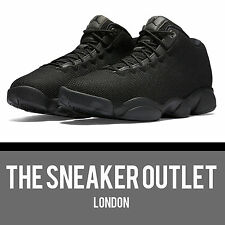 Men's Nike Jordan Horizon Low Triple Black UK Size 13 Trainers 4 5 6 7 Sneakers