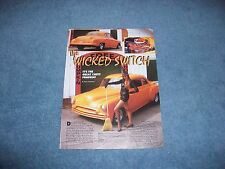 "1950 Chevy Coupe Mild Custom Vintage Article ""The Wicked Switch"""