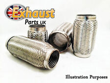 Fiat Punto 1.2 Stainless Steel Exhaust Flexi Pipe Repair Kit Section Flexible