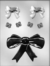 Ribbon Bows 3 Assorted Sizes Chocolate Candy Mold CK 8625 - New