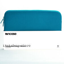 "Incase Neoprene Classic Sleeve Pouch Slip Case for MacBook Pro 15"" Peacock Blue"