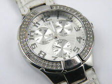 Ladies Guess W11008L1 Multi-Dial Stainless Steel Watch