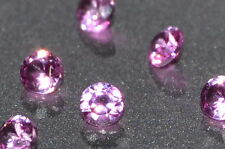 A Single 2mm Amazing Bright Pink Enhanced Natural SAPPHIRE!!!