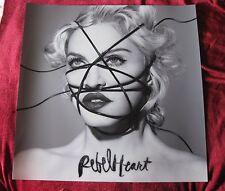 Madonna 3 FT x 3 FT Music Store LIGHTBOX Promo REBEL HEART Hard Plastic Poster