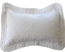 White Breakfast Cushion Pillow French Country Marcella Queen Bedspread Listed