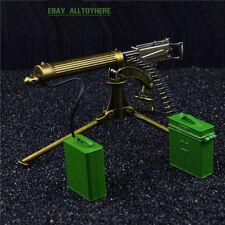 1/6 15cm BattleField1 Weapon Maxim gun Mg-08 Modern Warfare