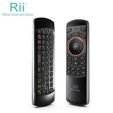 Remote Control Rii K25 wireless keyboard multifunction combo for smart TV PC