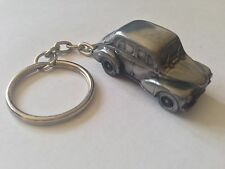 Renault 4CV ref208 FULL CAR on a split-ring keyring
